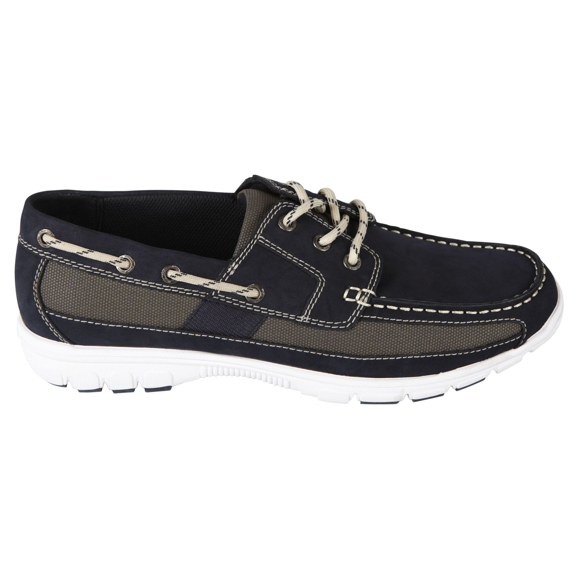 Thom McAn  Men's Kamber Casual Oxford - Navy