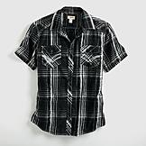 Route 66 Men's Plaid Shirt at mygofer.com