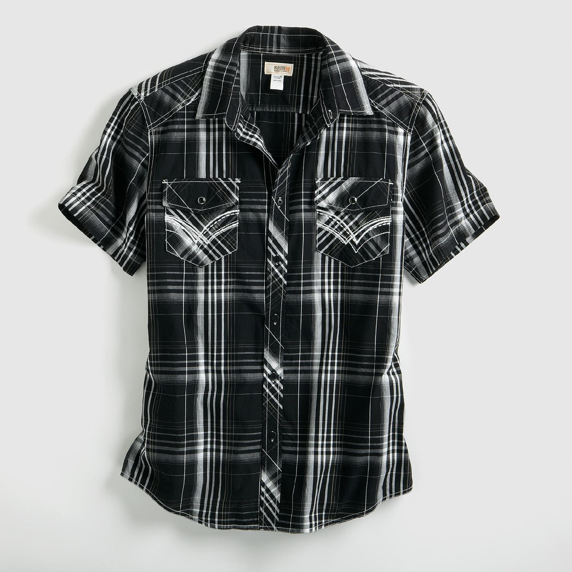 Route 66 Men's Plaid Shirt at Kmart.com