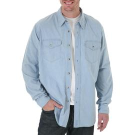 Wrangler Men's Shirt Jeans Co. Long Sleeve Woven at Kmart.com
