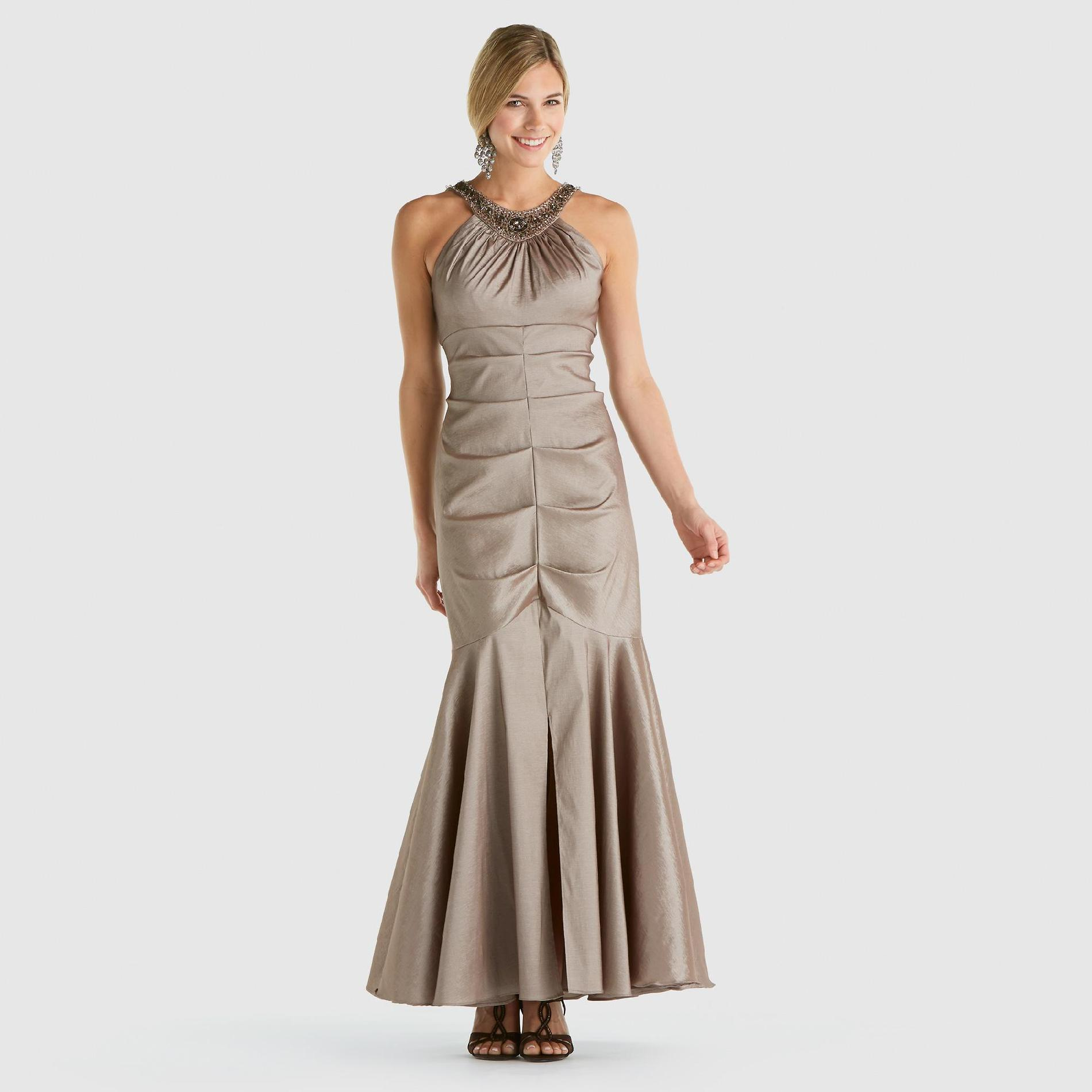 R & M Richards Women's Satin Mermaid Gown at Sears.com