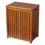 Oceanstar Solid Wood Spa Hamper at Sears.com