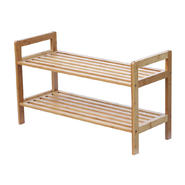 Oceanstar 2 Tier Bamboo Shoe Rack at Kmart.com