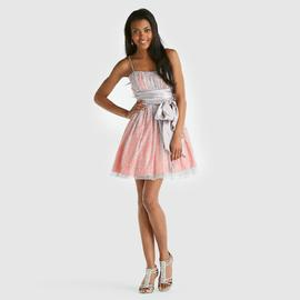 B Smart Junior's Mesh Overlay Prom Dress at Sears.com