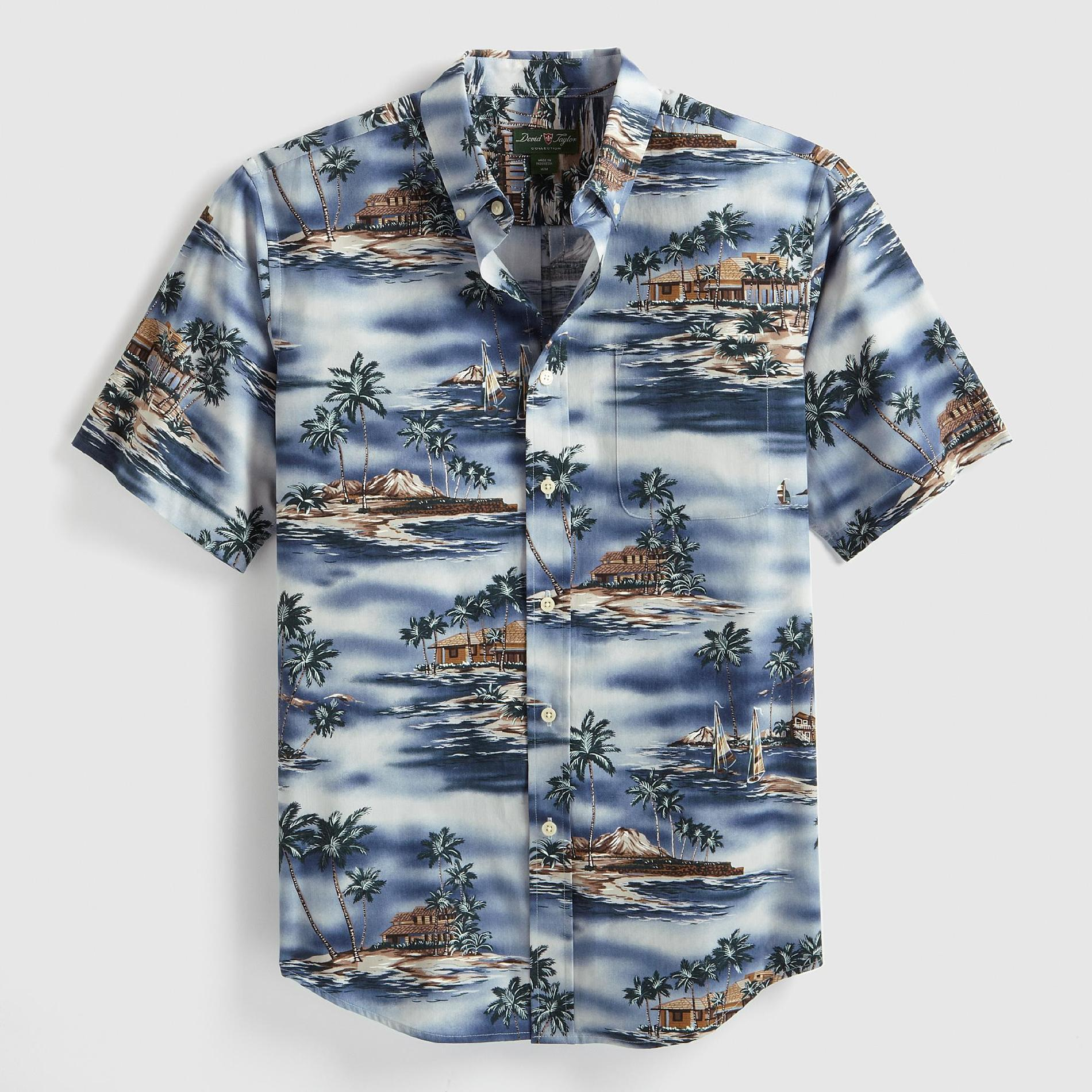 David Taylor Men's Woven Shirt - Island at Kmart.com