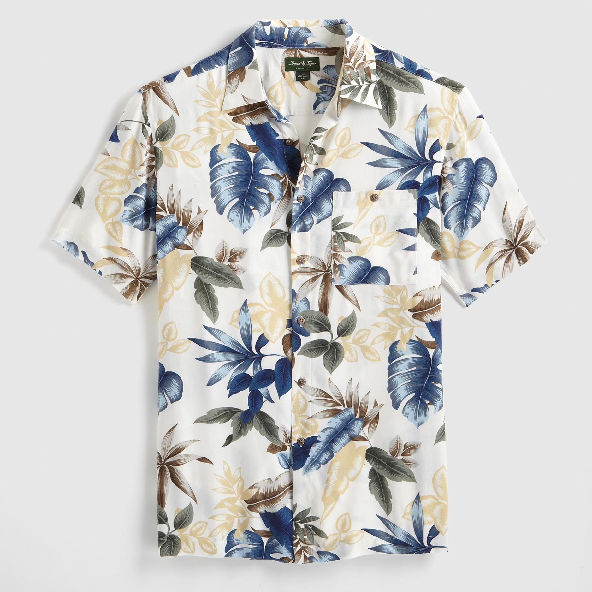 David Taylor Men's Woven Shirt - Palms at Kmart.com