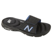 New Balance Men's Rev Slide Athletic Sandal - Black/Blue at Sears.com