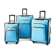American Tourister Pop 3pc Spinner Set (Aqua Blue) at Sears.com
