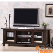 Baxton Havana Brown Wood Modern TV Stand (Plasma) at Kmart.com