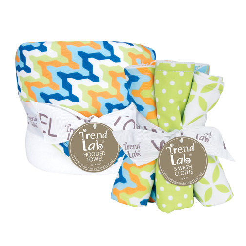 Bouquet Set - Levi - Hooded Towel & Wash