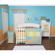 Levi - 3 Piece Crib Bedding Set & Crib Bumpers Bundle at Sears.com