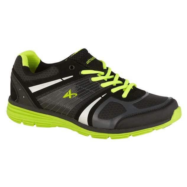 Athletech Boy's Jogger Hawk 2 - Black/Lime