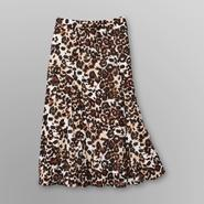 Jaclyn Smith Women's Crepe Skirt - Leopard Print at Kmart.com