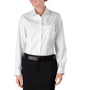 Dickies Women's Long Sleeve Poplin Shirt FL070 at Sears.com