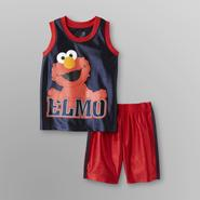 Sesame Street Infant Boy's Tank Top & Shorts - Elmo at Kmart.com
