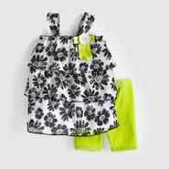 WonderKids Infant & Toddler Girl's Chiffon Tunic & Leggings at Kmart.com