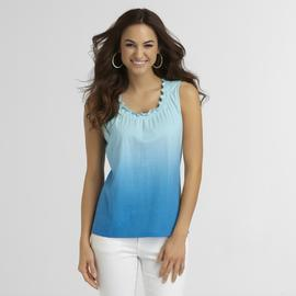 Basic Editions Women's Ombre Tank Top at Kmart.com