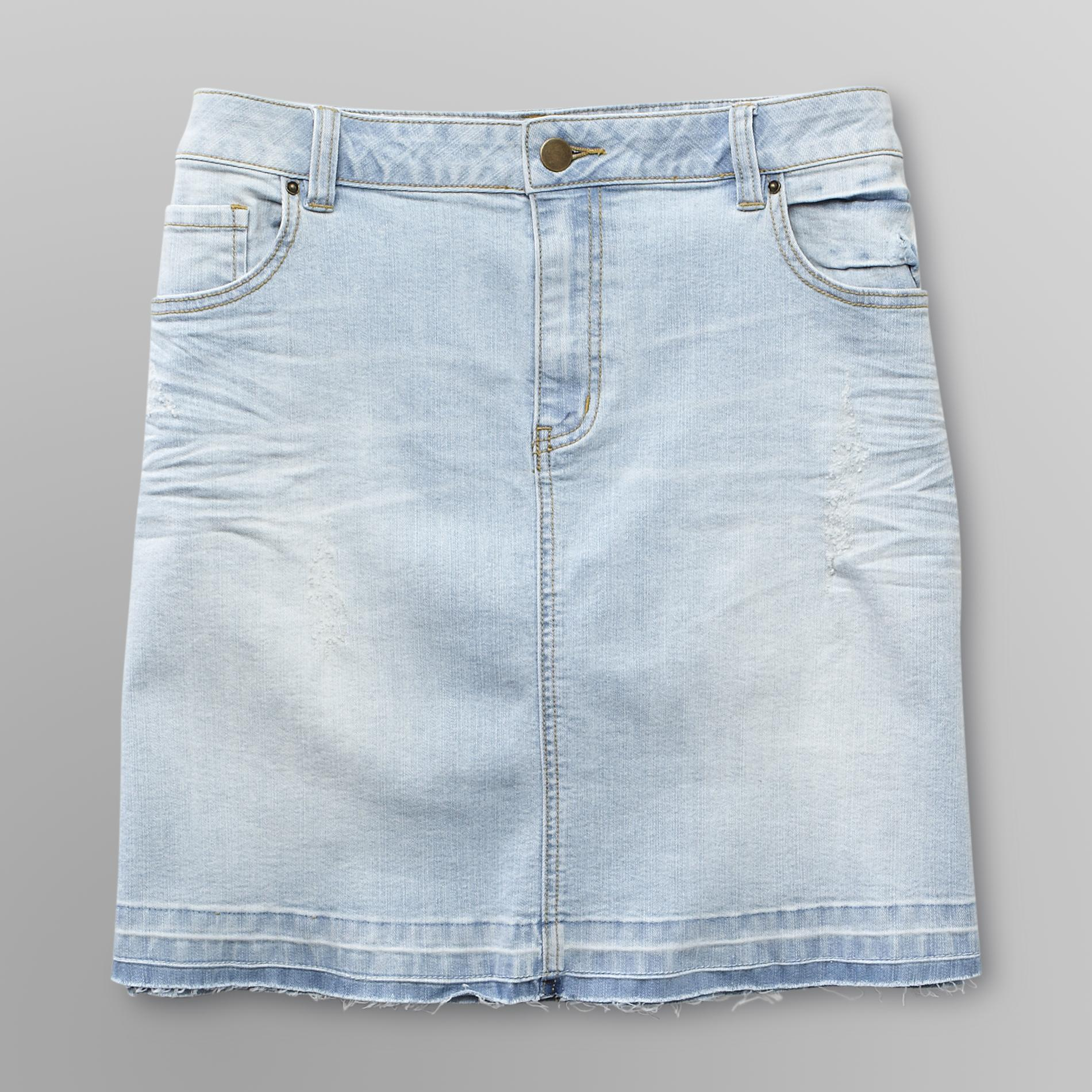 Love Your Style, Love Your Size Women's Plus Denim Skirt at Kmart.com