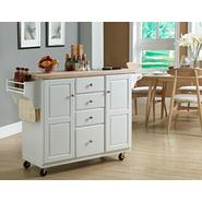 Kitchen Island with Granite Insert at Sears.com