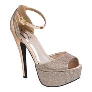 Qupid Women's Dress Shoe Confess-01 - Champagne at Kmart.com