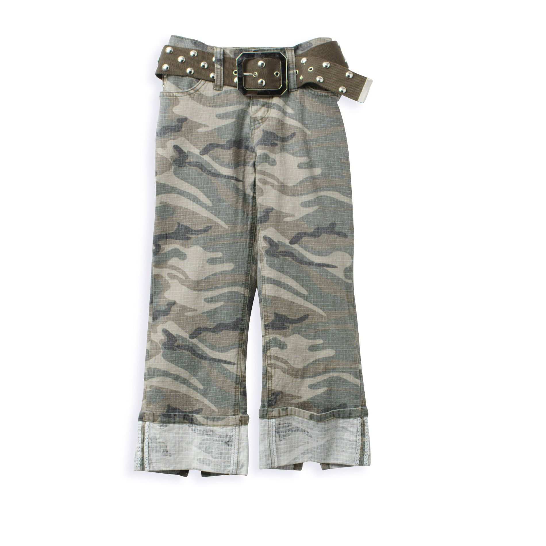 Vanilla Star Camo Duff Web Belt Crop at Kmart.com