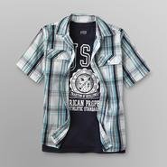 Canyon River Blues Boy's Collared Shirt & T-Shirt - USA Athletic at Sears.com