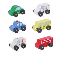Discoveroo Six Piece Wooden Car Set at Sears.com