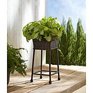 Ty Pennington Style Square Wicker Plant Stand at Kmart.com