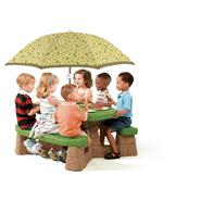Step 2 Naturally Playful Picnic Table with Umbrella at Kmart.com