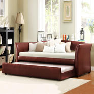 Oxford Creek Flare Arms Daybed with Trundle in Red at Sears.com