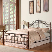 Oxford Creek Queen size Wood/Metal Bed at Kmart.com