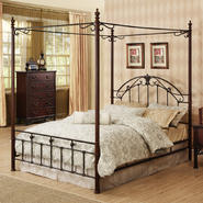 Oxford Creek Queen size Wood/Metal Canopy Bed at Kmart.com