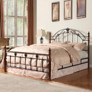 Oxford Creek King size Wood/Metal Bed at Kmart.com