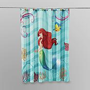 Disney Microfiber Shower Curtain at Kmart.com
