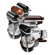 KitchenAid Dark and Metallic Professional 6Qt. Series Mixer Bundle at Sears.com