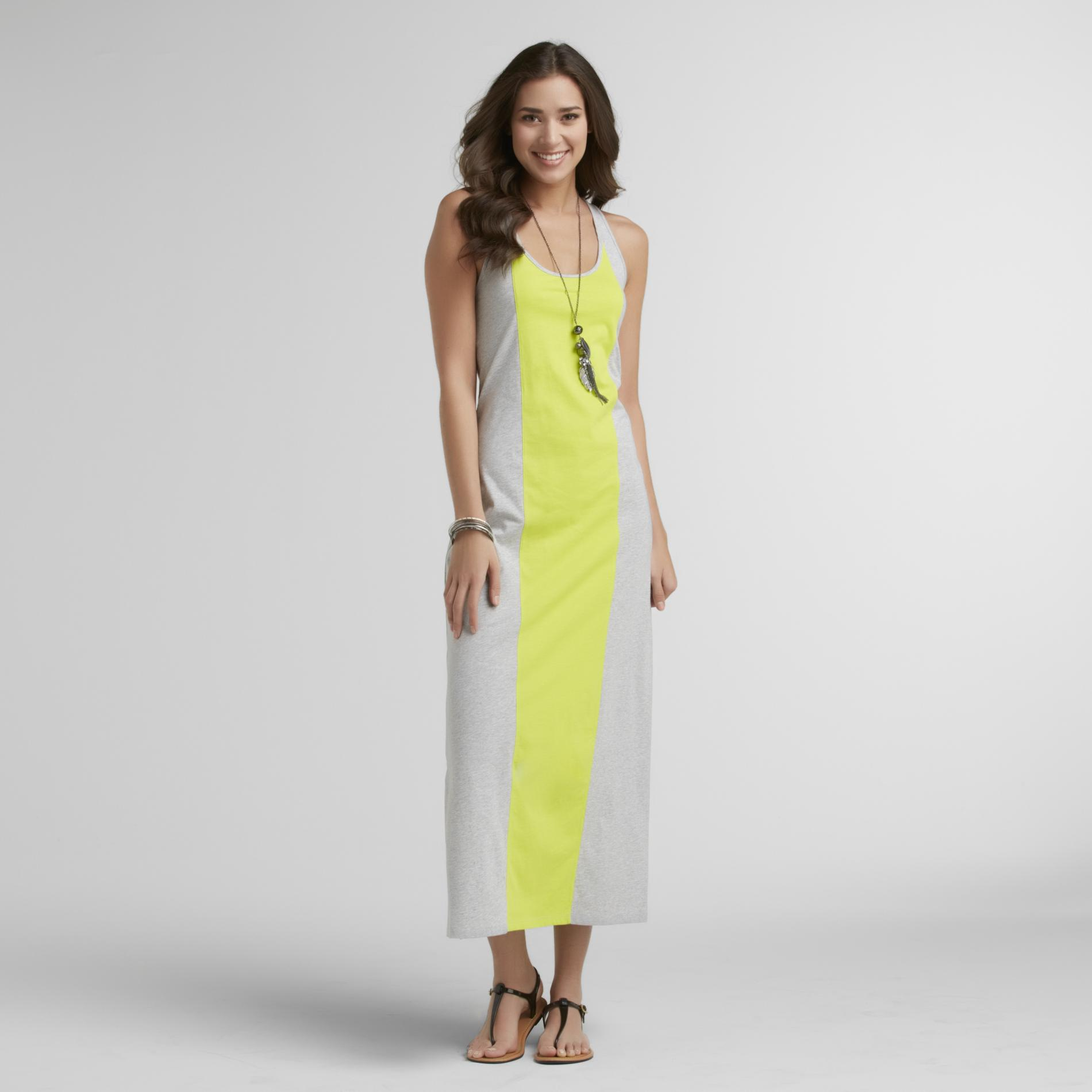 Route 66 Women's Colorblock Maxi Dress at Kmart.com