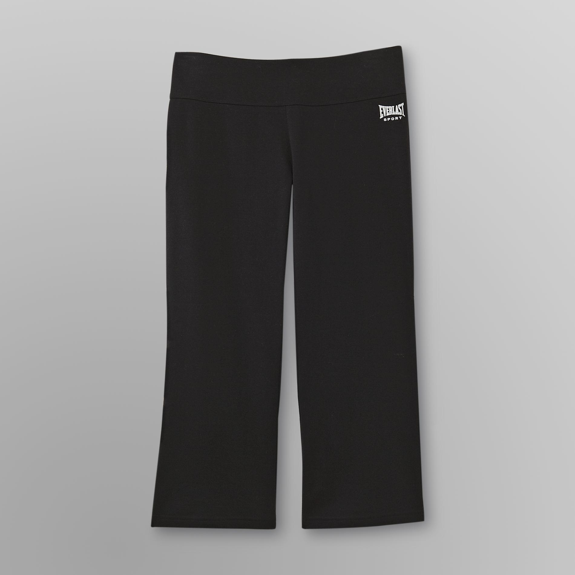 Women's Flared Capri Sweatpants