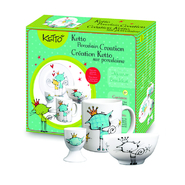 KETTO Paint-it-yourself Breakfast Set - Cat Theme at Sears.com