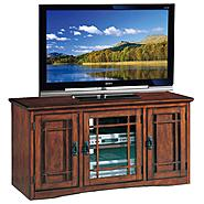 "Leick Riley Holliday Mission 50"" TV Stand with Storage - Mission Oak at Kmart.com"