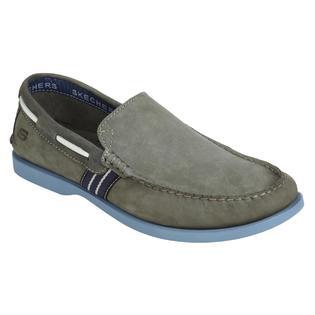 Skechers Men's Abalo Casual Slip-On Shoe- Gray