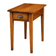 Leick Bin pull Narrow chairside End table - Candleglow at Sears.com