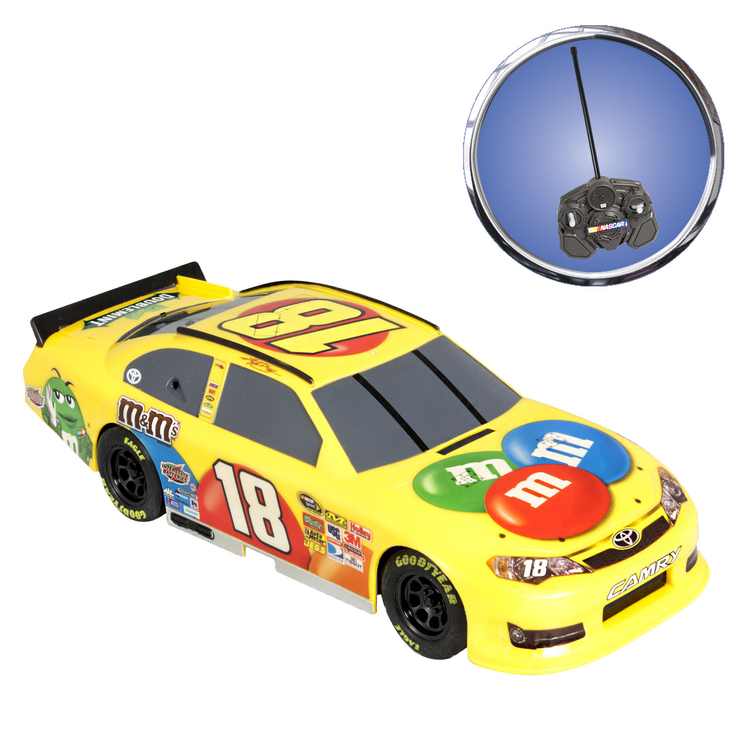 Radio Control 1:24th Replica - Kyle Bush- M&M's
