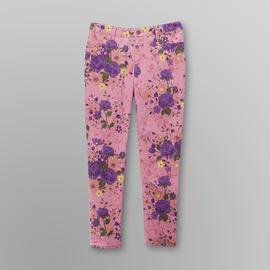 Dream Out Loud by Selena Gomez Junior's Twill Skinny Pants - Floral at Kmart.com
