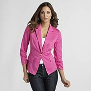 Sofia by Sofia Vergara Women's Fitted Blazer at Kmart.com