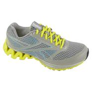 Reebok Women's ZigKick Ride Running Athletic Shoe - Grey/Yellow at Sears.com