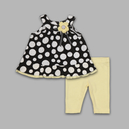 Small Wonders Newborn Girl's 2 Pc Top and Pants Polka Dot Set at Kmart.com