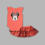 Disney Baby Newborn Girl's 2 Pc Bodysuit and Skirt Minnie Set at Kmart.com