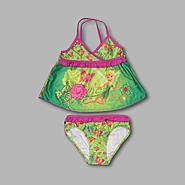 Disney Girl's 2 Pc Tinker Bell Tankini at Kmart.com