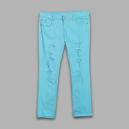 Almost Famous Juniors' Destructed Skinny Leg Pants at Sears.com