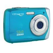 VistaQuest VQ-9100 12 Megapixel Digital Camera - Blue at Kmart.com